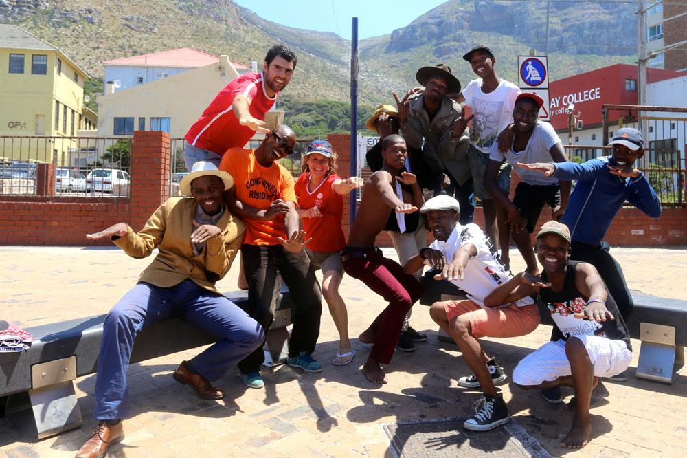 Im Einsatz in Südafrika